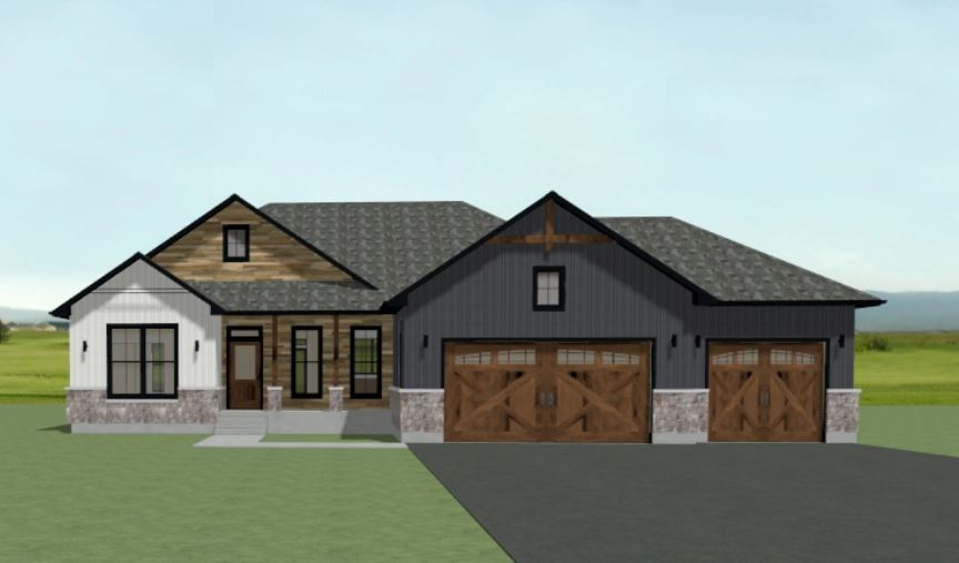 Modern Farmhouse 2 Bay