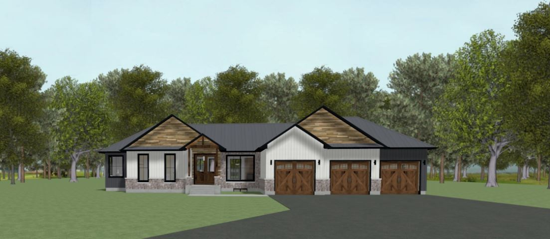 Modern Farmhouse 3 Bay